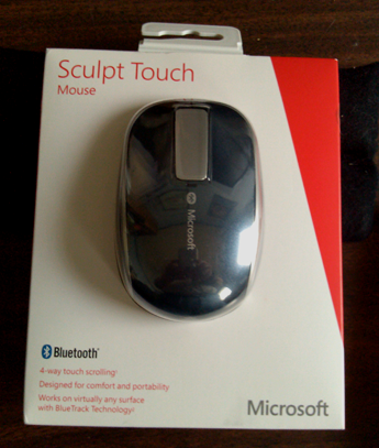 Microsoft Sculpt Touch Mouse - Review
