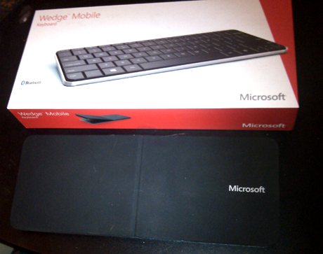 Microsoft, Wedge Mobile, Keyboard, Review, Performance