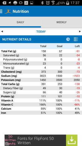 MyFitnessPal, log food, calories, how to