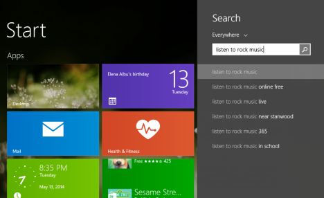 Windows 8.1, Bing, natural, language, search, Smart Search, Natural Language Understanding