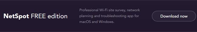 Hidden WiFi, Netspot