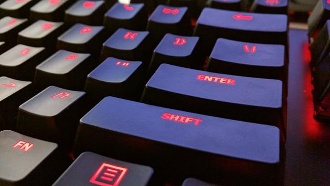 NKRO, keyboard, 6KRO
