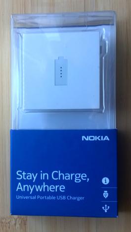 Nokia, Universal, Portable, USB Charger, smartphone