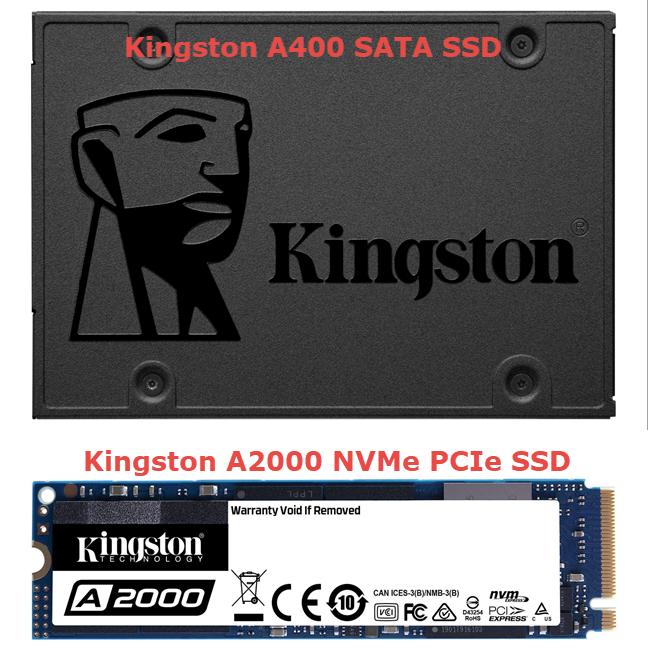 Kingston A400 vs. Kingston A2000