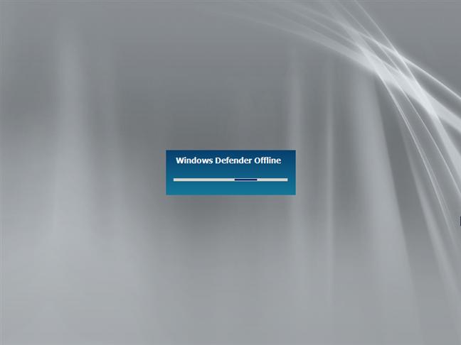 Booting into Windows Defender Offline