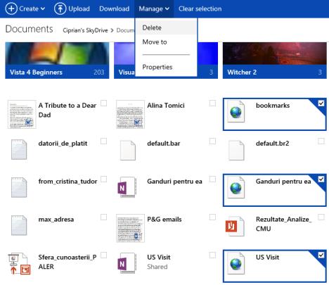 OneNote, files, Deletion, Error, shortcuts, SkyDrive