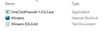 block, internet, access, restore, Windows, apps, programs, OneClickFirewall