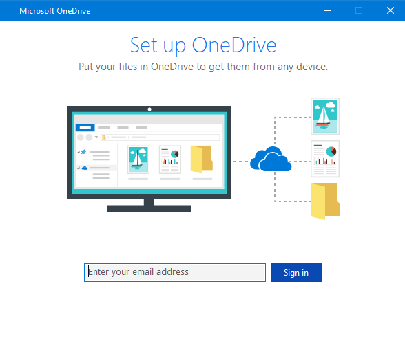 Reconfigure OneDrive from scratch