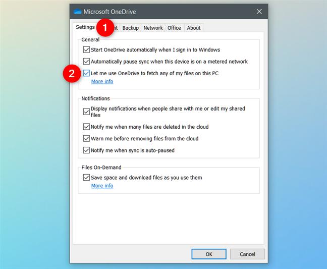 Permítame usar OneDrive para buscar cualquiera de mis archivos en esta PC
