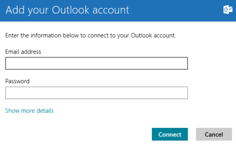 Windows 8 - Add POP3 to Outlook.com & Outlook to Mail