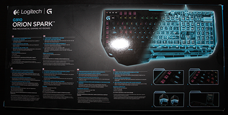 Logitech, G910, Orion Spark, keyboard, review, gaming