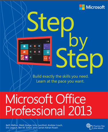 Microsoft Office Professional 2013 Step by Step, review, book, Office 365