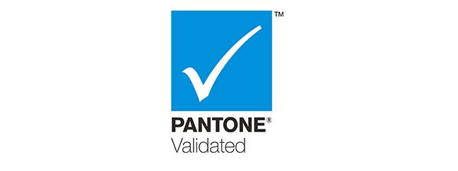 The Pantone Validated logo
