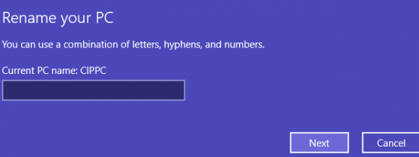 PC name