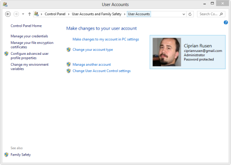 Windows 8, Windows 8.1, Access, PC Settings, shortcuts