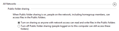The Public Folder in Windows and how to use it for sharing
