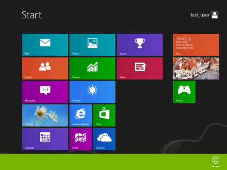 Windows 8 - All Apps