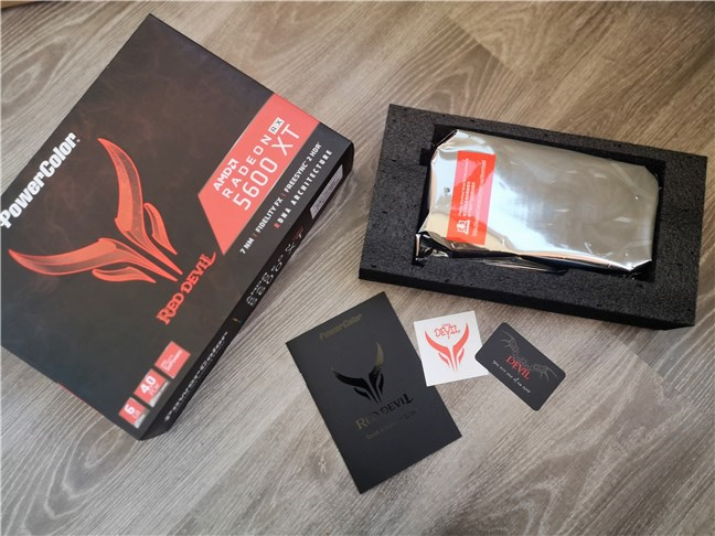 PowerColor Radeon RX 5600 XT Red Devil: What's inside the box