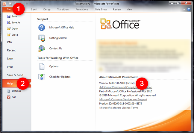About Microsoft PowerPoint in Microsoft Office 2010