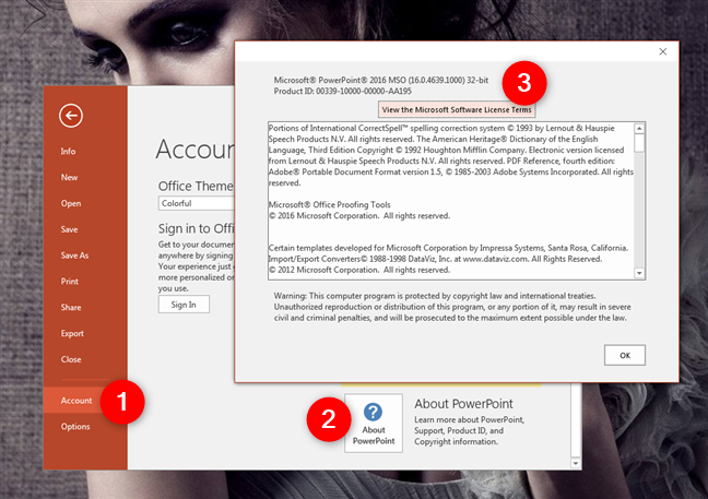 About PowerPoint in Microsoft Office 2016