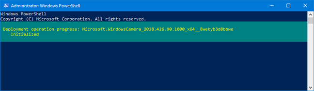 Using the Remove-AppxPackage command in PowerShell