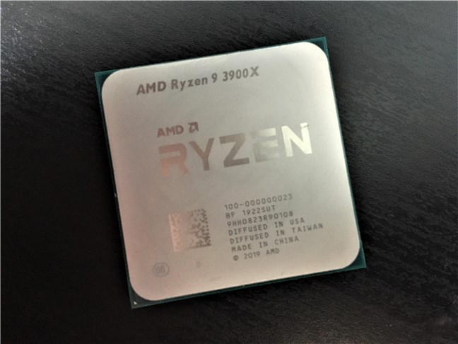 The AMD Ryzen 9 3900X processor