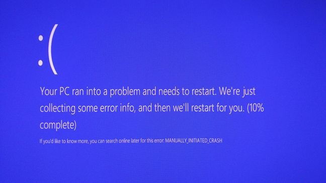 Windows 10, Blue screen of death, BSOD, error, code, QR code