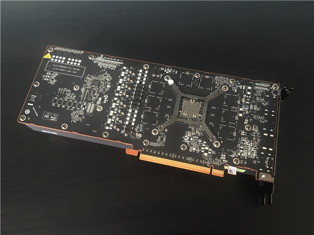 AMD Radeon RX 5700 doesn't have a backplate