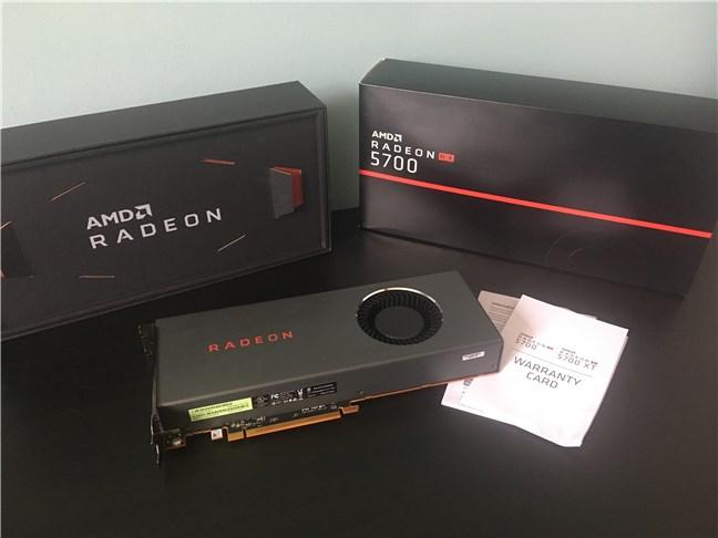 The AMD Radeon RX 5700