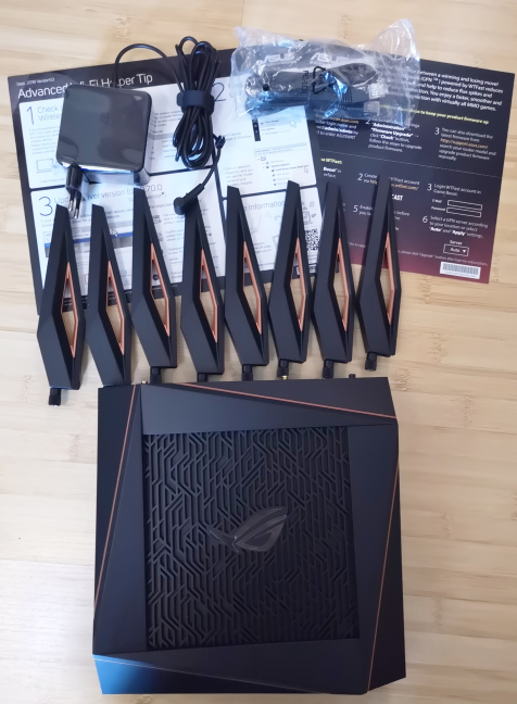 Unboxing the ASUS ROG Rapture GT-AX11000