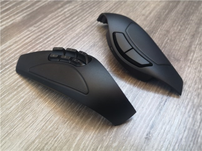 Razer Naga Pro 2 and 6-buttons side plates