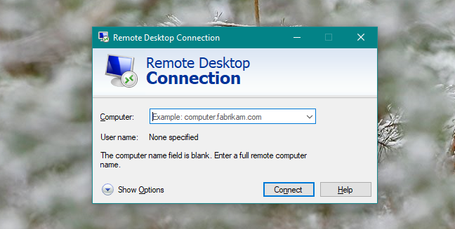 Windows, Remote, Desktop, Connection