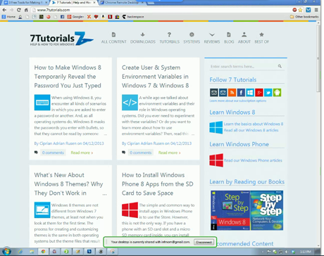 Remote Desktop Connection - Mac OS X to Windows - Google Chrome