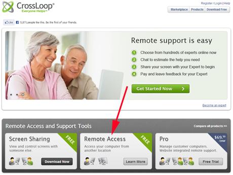 Remote Desktop Connection - Mac OS X to Windows - CrossLoop