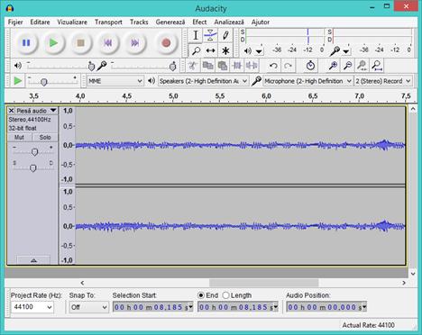 Sound Record, alternative, Audacity