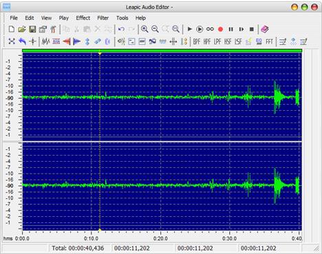 Sound Record, alternative, Leapic Audio Editor