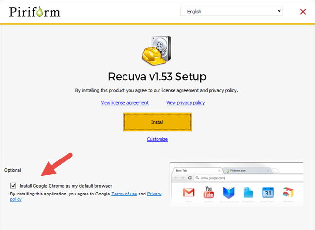 Recuva, recover, deleted files