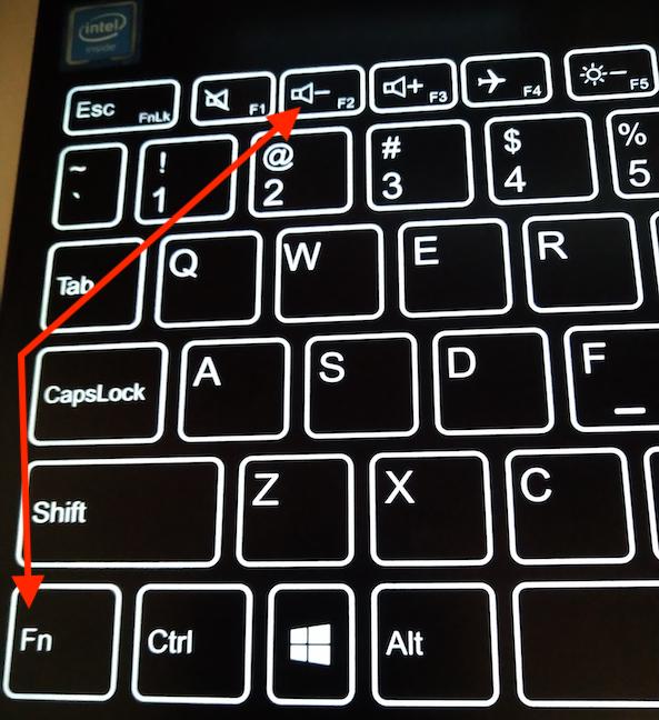 Las teclas F2 y Fn de nuestro teclado