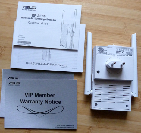 ASUS RP-AC56, AC1200, dual band, wireless, range, extender, repeater, access point, review, test, benchmark