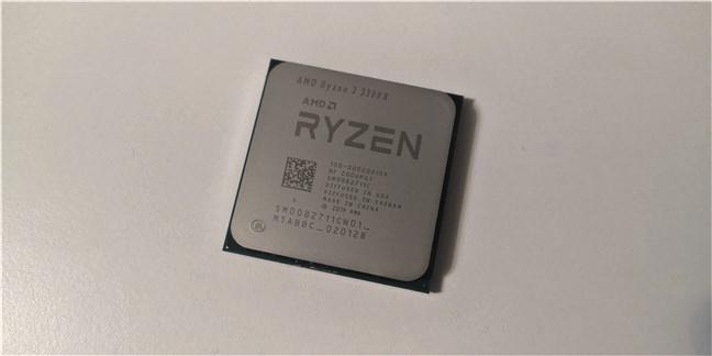 The AMD Ryzen 3 3300X processor