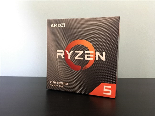 The package of the AMD Ryzen 5 3600