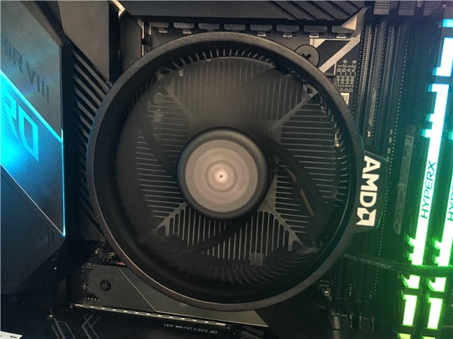 The Wraith Stealth cooler bundled with the AMD Ryzen 5 3600