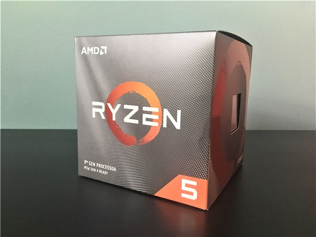 The package of the AMD Ryzen 5 3600X