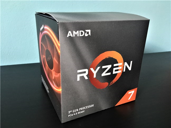 The package of the AMD Ryzen 7 3700X