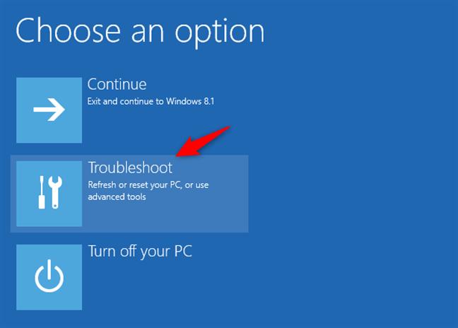 Troubleshooting Windows 8 or 8.1