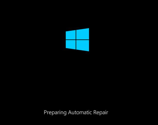 Preparing Automatic Windows 8.1 Repair
