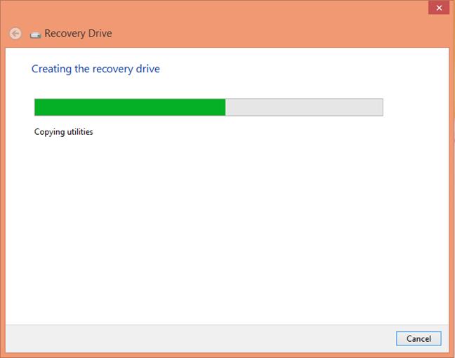 Windows 8 Recovery Drive