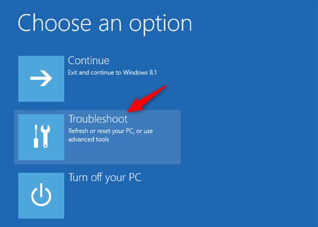 Troubleshooting Windows 8.1