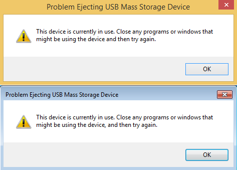 Safe To Remove Hardware, Windows, removable, drive, storage, USB, external, hard disk