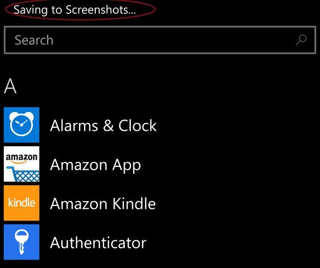 take, screenshots, pictures, Windows Phone, Windows 10 Mobile
